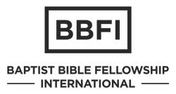 Baptist Bible Fellowship International Logo