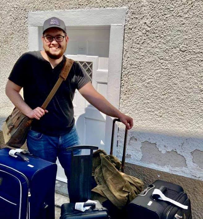 Ryan Taylor Arrives in Germany